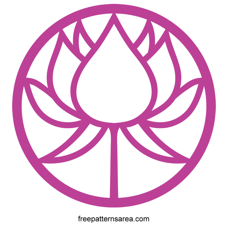 Vector lotus. Symbol illustrations to use