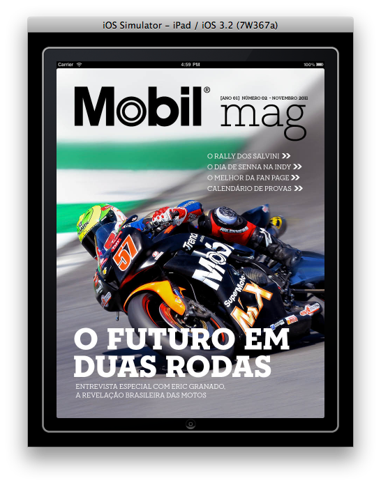Vector magazines magazine cover page. Ipad mobil mag on