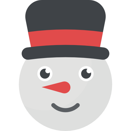 Vector market cartoon. Snowman free icons designed