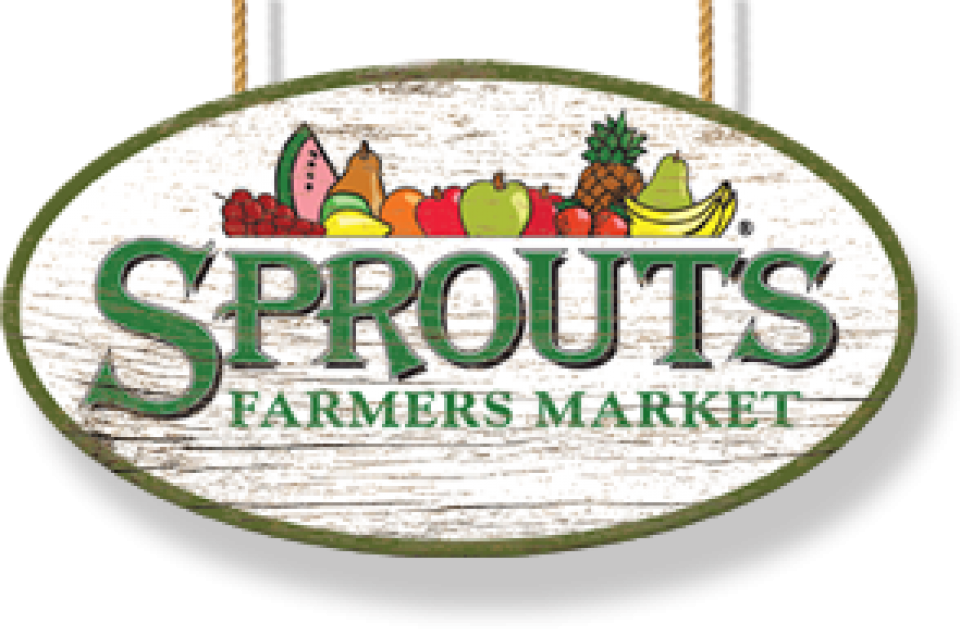 Vector market farmers. Sprouts to be in