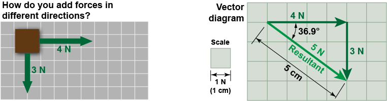 Vector means resultant. Essential physics ch diagram