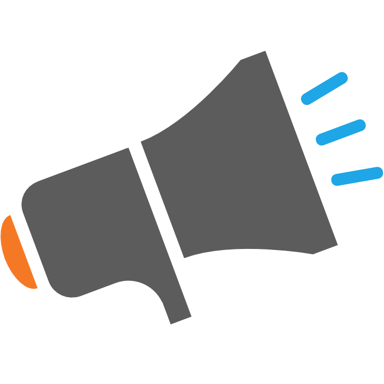 Vector megaphone public relation. Free icon download relations