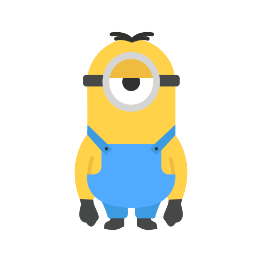 Vector minion stuart. Icons for free despicable