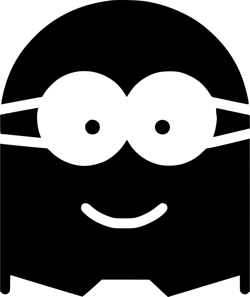 Vector minion svg. Png icon free download