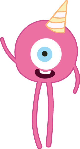 Monster clip cyclops. Free online cute vector