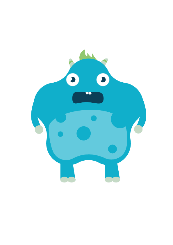 Nyty on student show. Vector monster file jpg library download