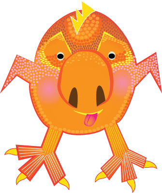 Vector monster illustrator. Create a adobe education