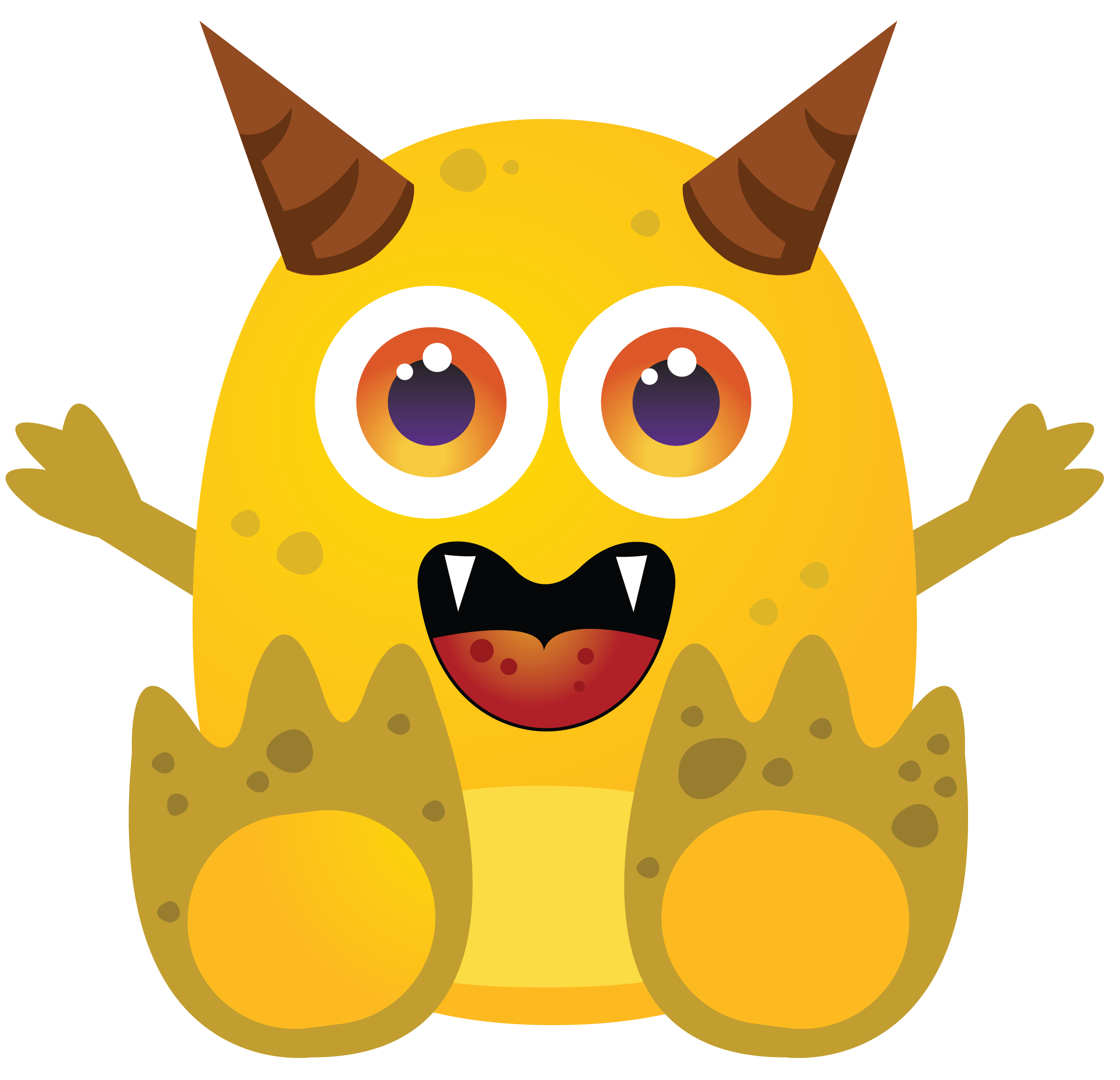 Vector monsters kid. Image result for uiux