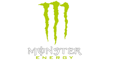 Vector monster logo. Energy lchv logos chile