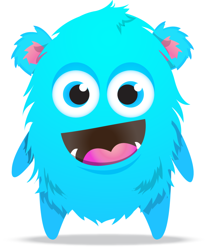 Vector monsters class dojo. Transparent library huge