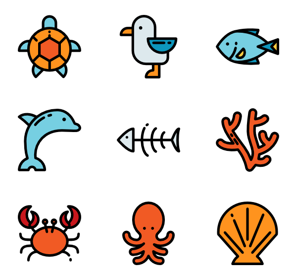 Vector monsters simple sea. Jellyfish banner stock