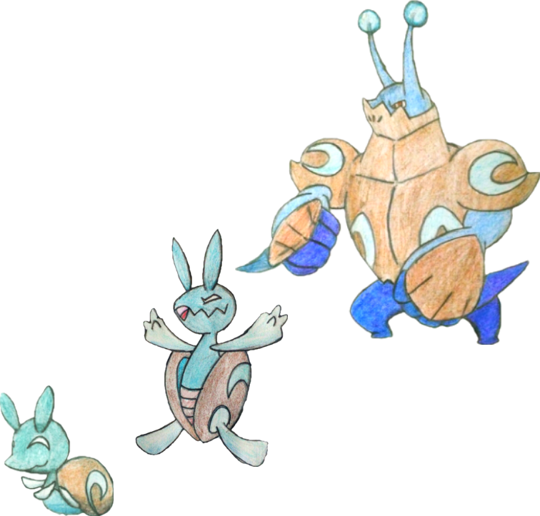 Vector monsters water. Snail clipart free