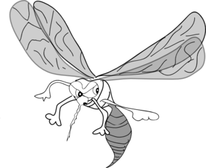 Vector mosquitoes clipart. Mosquito clip art at