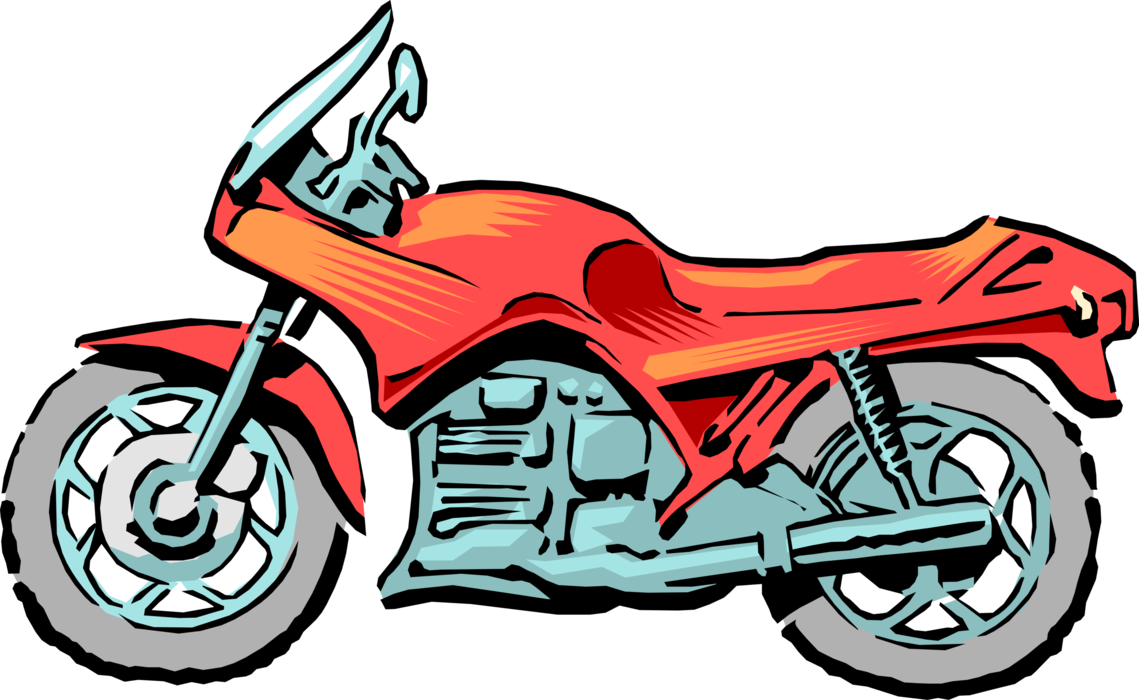 Motorcycle or motorbike image. Vector motorcycles picture freeuse