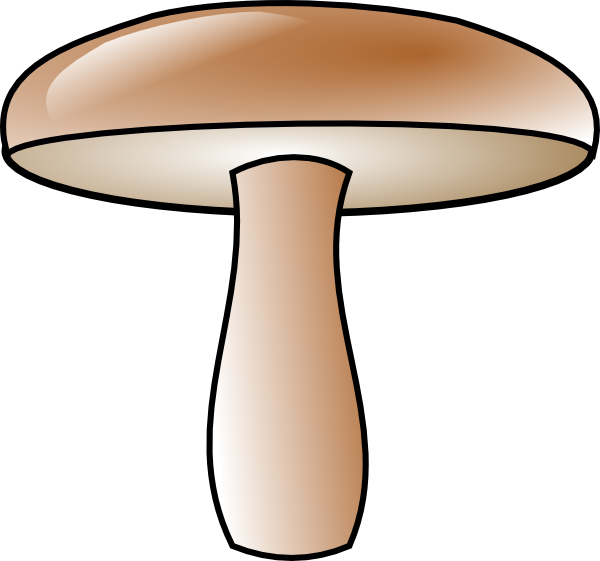 Final mushroom clip at. Mushrooms vector art image library