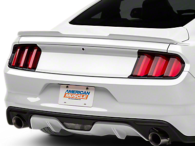 Vector mustang photorealistic. Raxiom smoked tail lights
