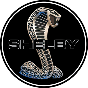Vector mustang shelby. Logo eps free download
