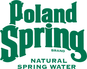 Vector nature spring. Poland brand natural water