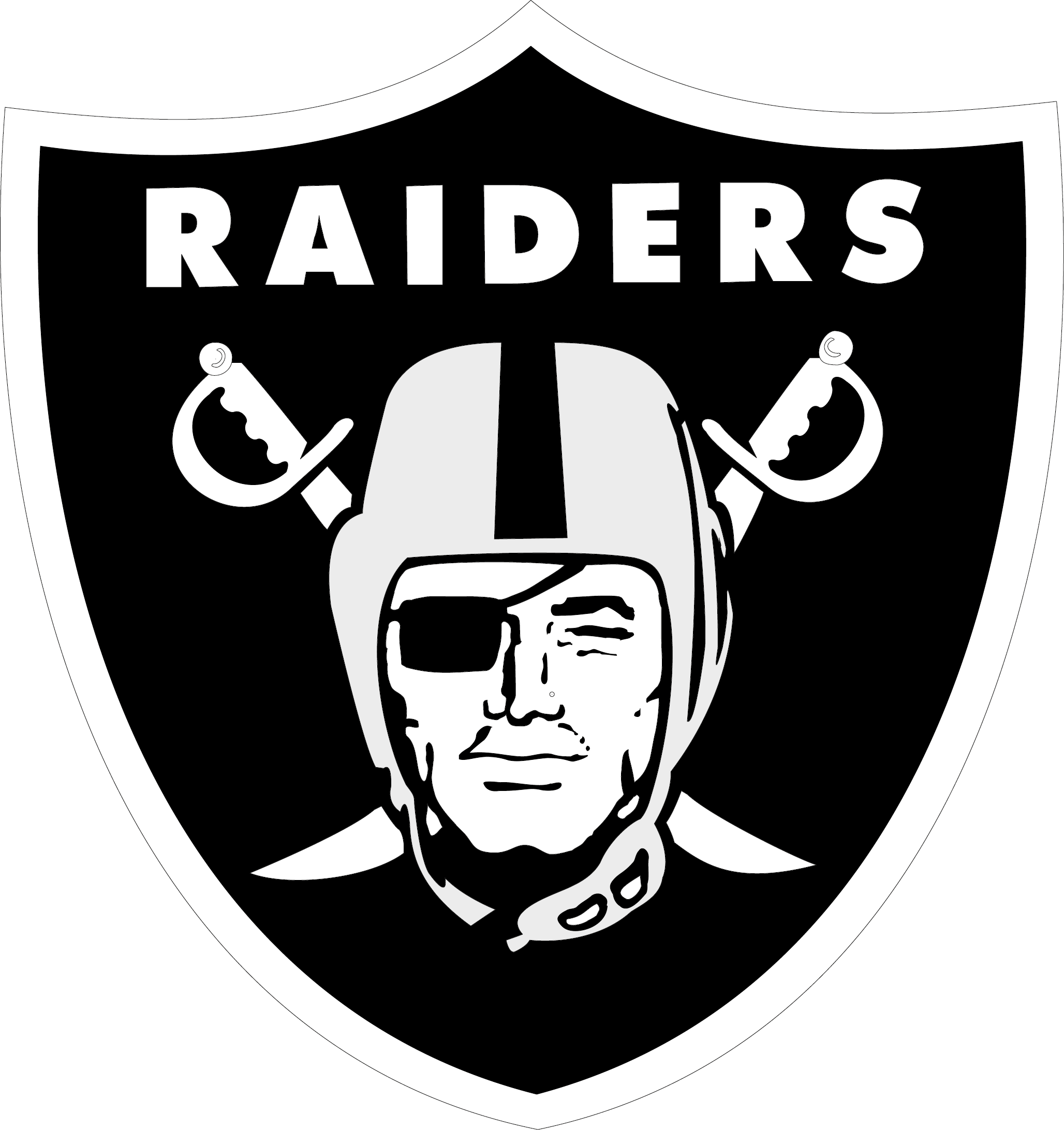 Vector nfl logo png. Oakland raiders eps free