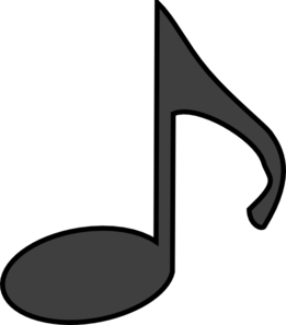 Music note clip art. Notes clipart clipart