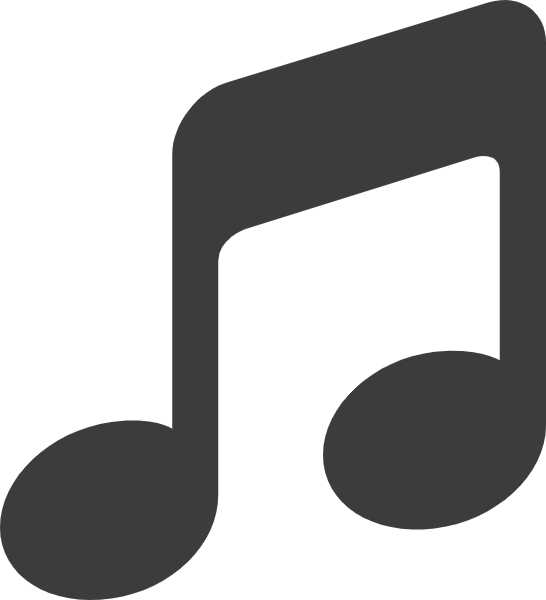 Vector notes logo. Free online music office
