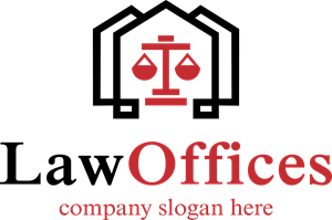 Vector offices medical office. Law logo ai free