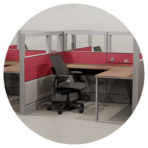 Vector offices office furniture. Davies sustainable solutions remanufactured