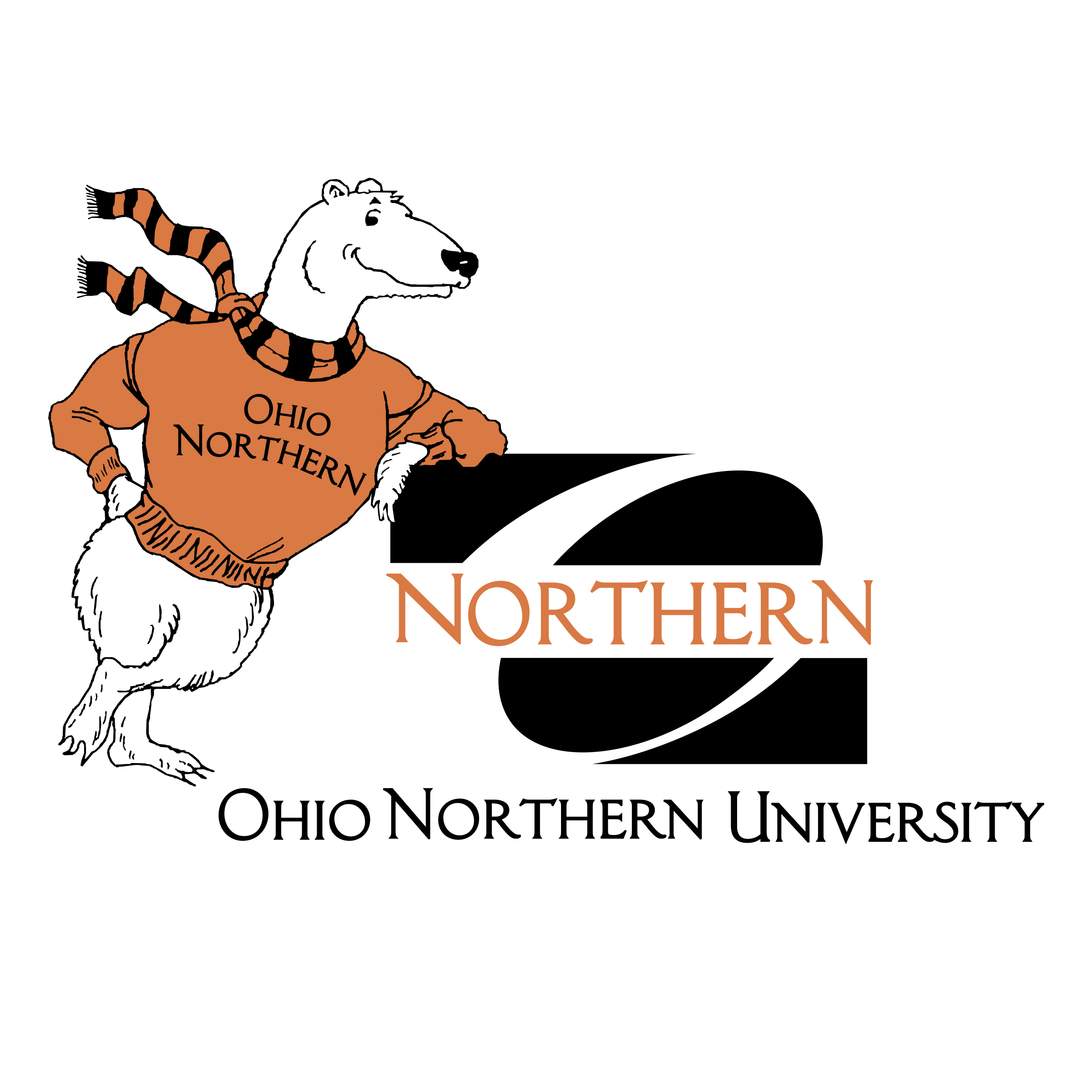 Vector ohio svg. Northern university logo png
