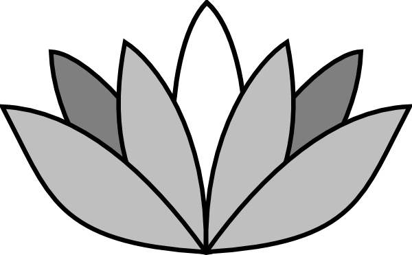 Vector Outline Lotus Picture 2529237 Vector Outline Lotus