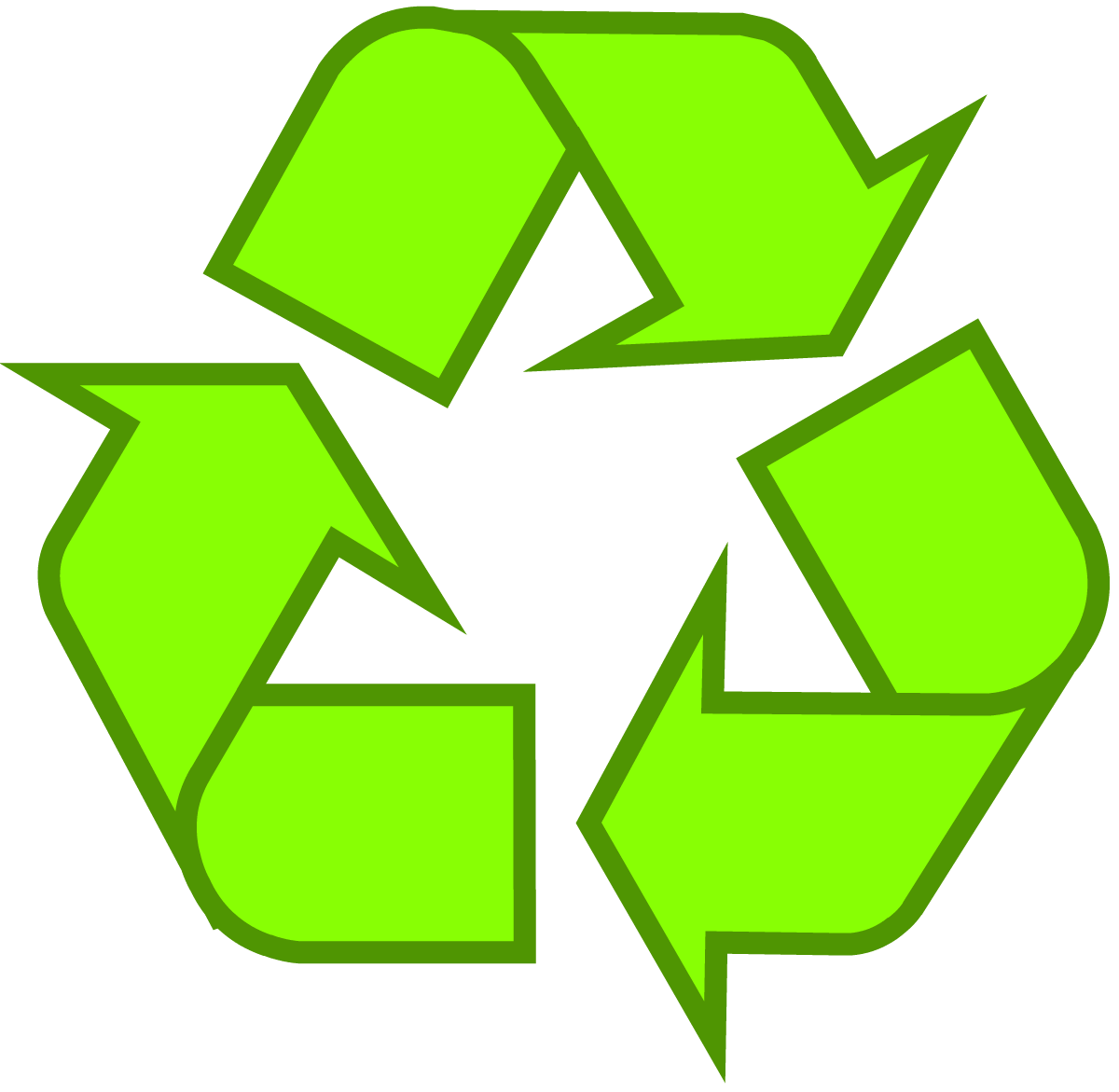 Vector packaging background. Download recycling symbol the