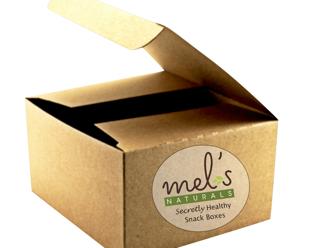 Packaging vector background. Plastic open delivery image