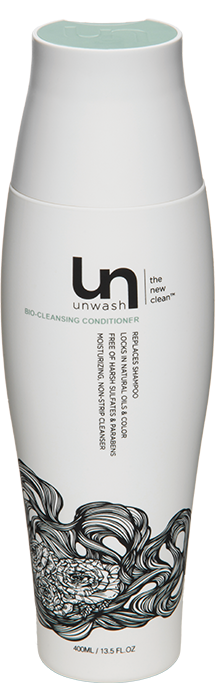 Packaging vector cosmetic bottle. Unwash bio cleansing conditioner