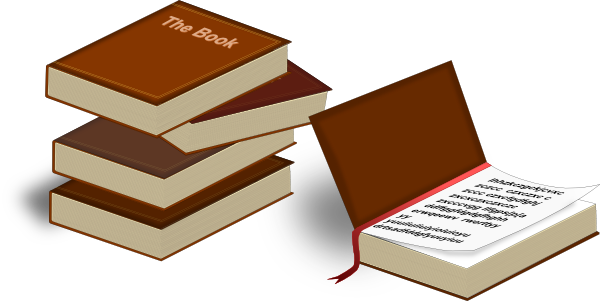 Package vector stack box. Free cartoon of books