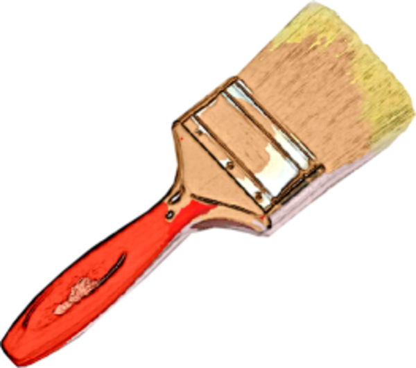 Vector paintbrush kuas. Transparent png pictures free