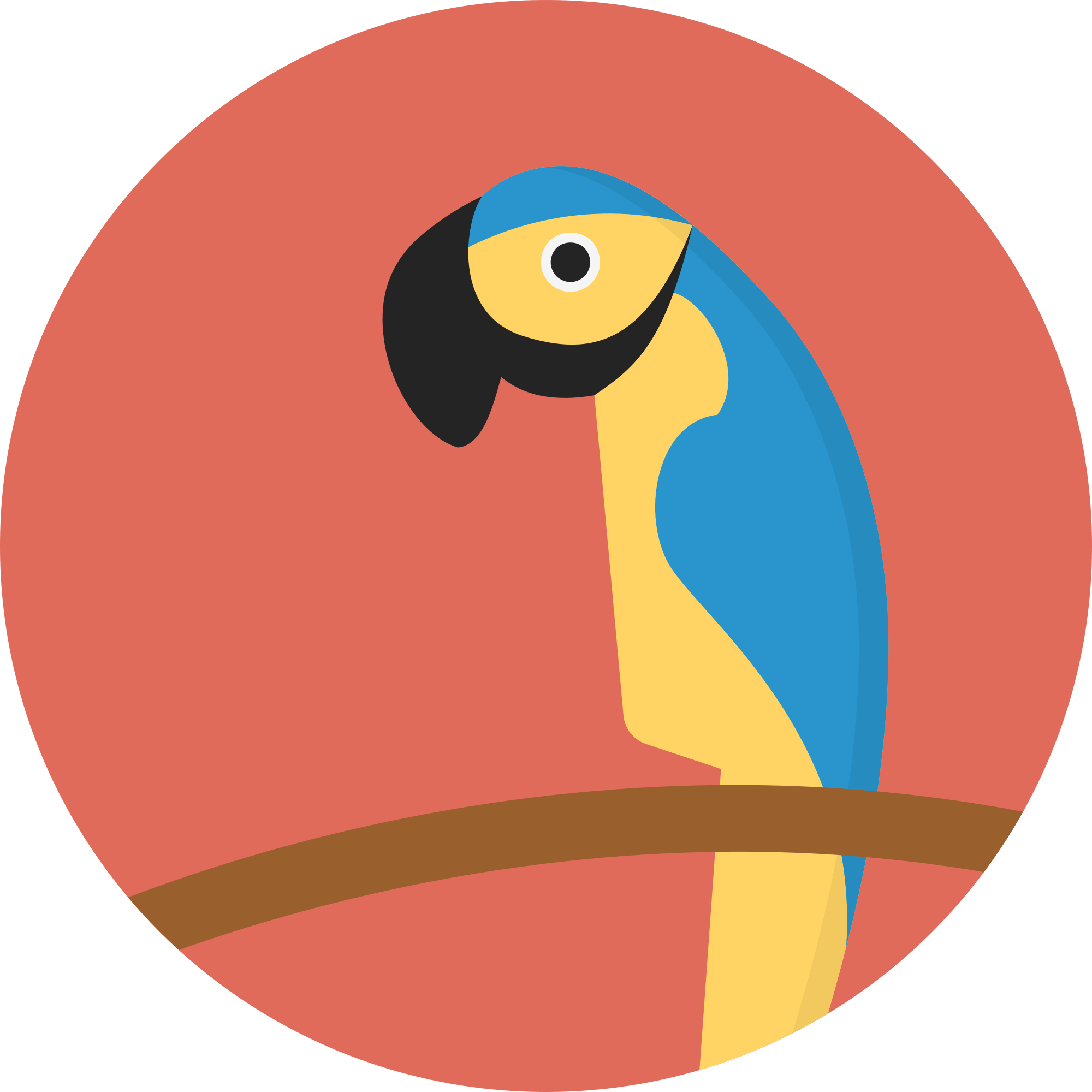 Vector parrot svg. File creative tail animal