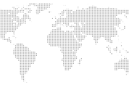 Vector paths dotted. World map hd path