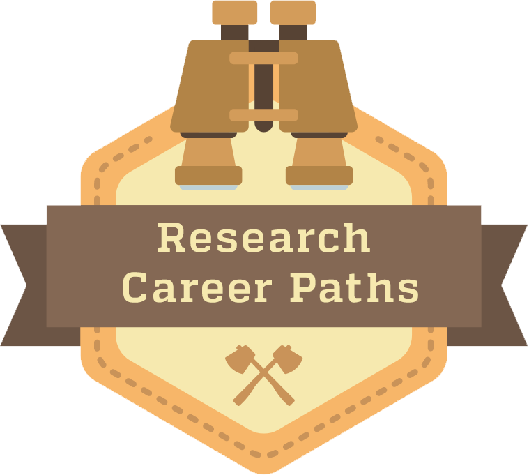 Vector paths career path. Research and educational options