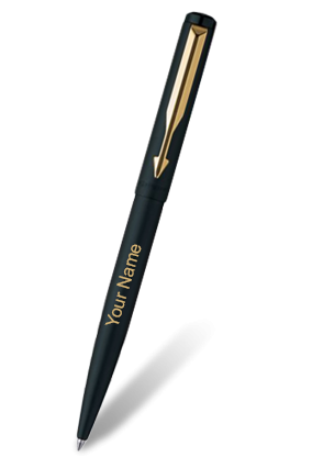 Vector pens ball. Parker buy personalized with