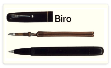Vector pens ancient. History of quality logo