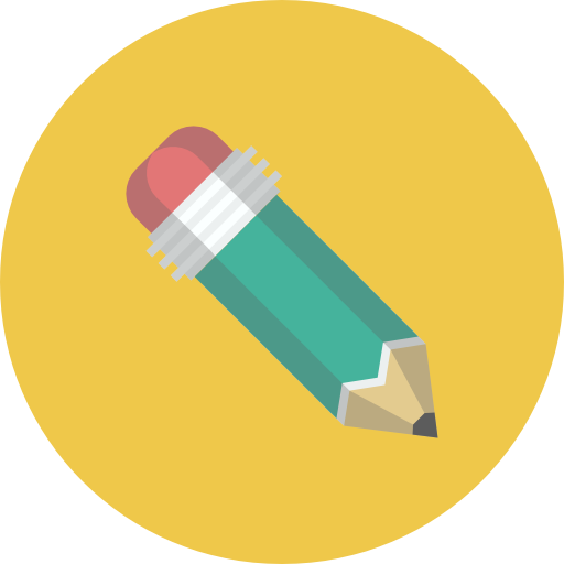 Vector pens flat. Free pencil icon download