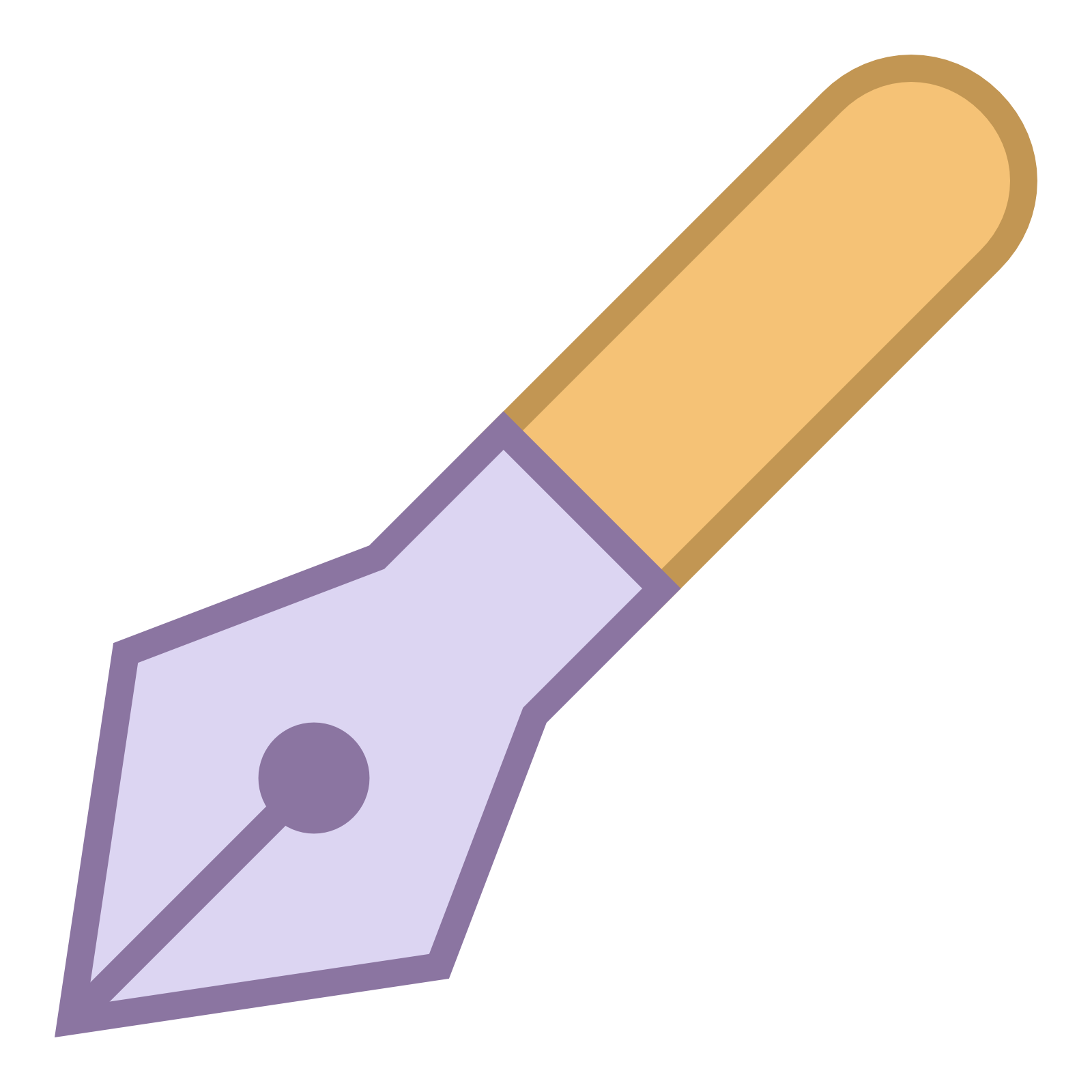 Vector pens old fashioned. Pen icon free download