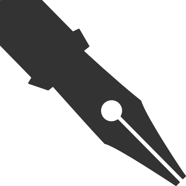 Vector pens tip. Pen clip art at