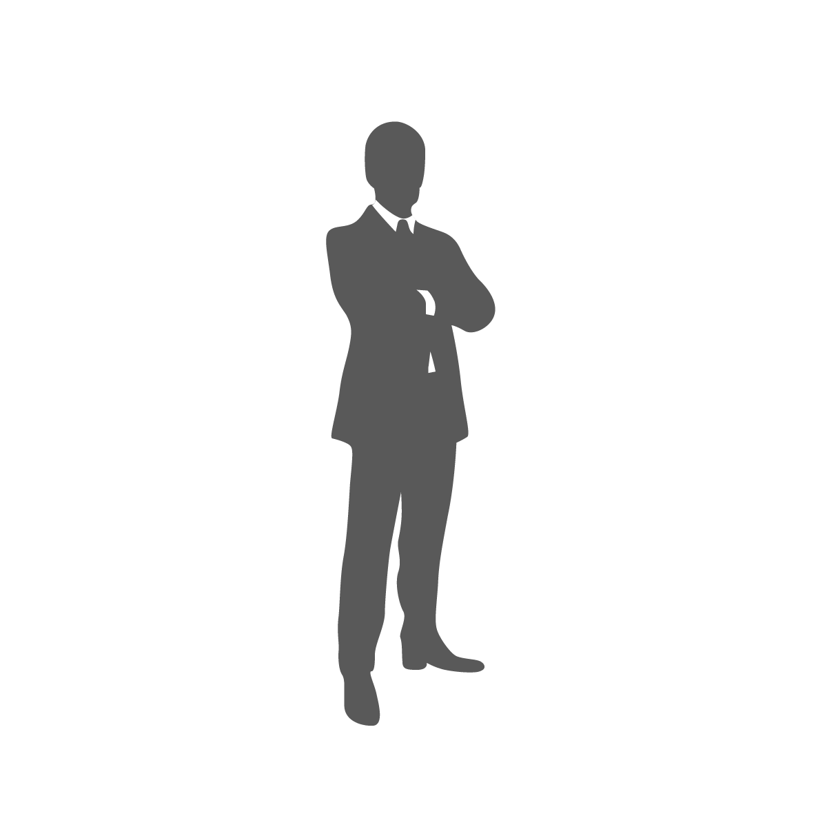 Male vector infographic. Dark business people transprent