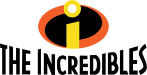 The incredibles logo eps. Vector pic free stock