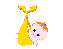 Vector pict element. Free baby bag png