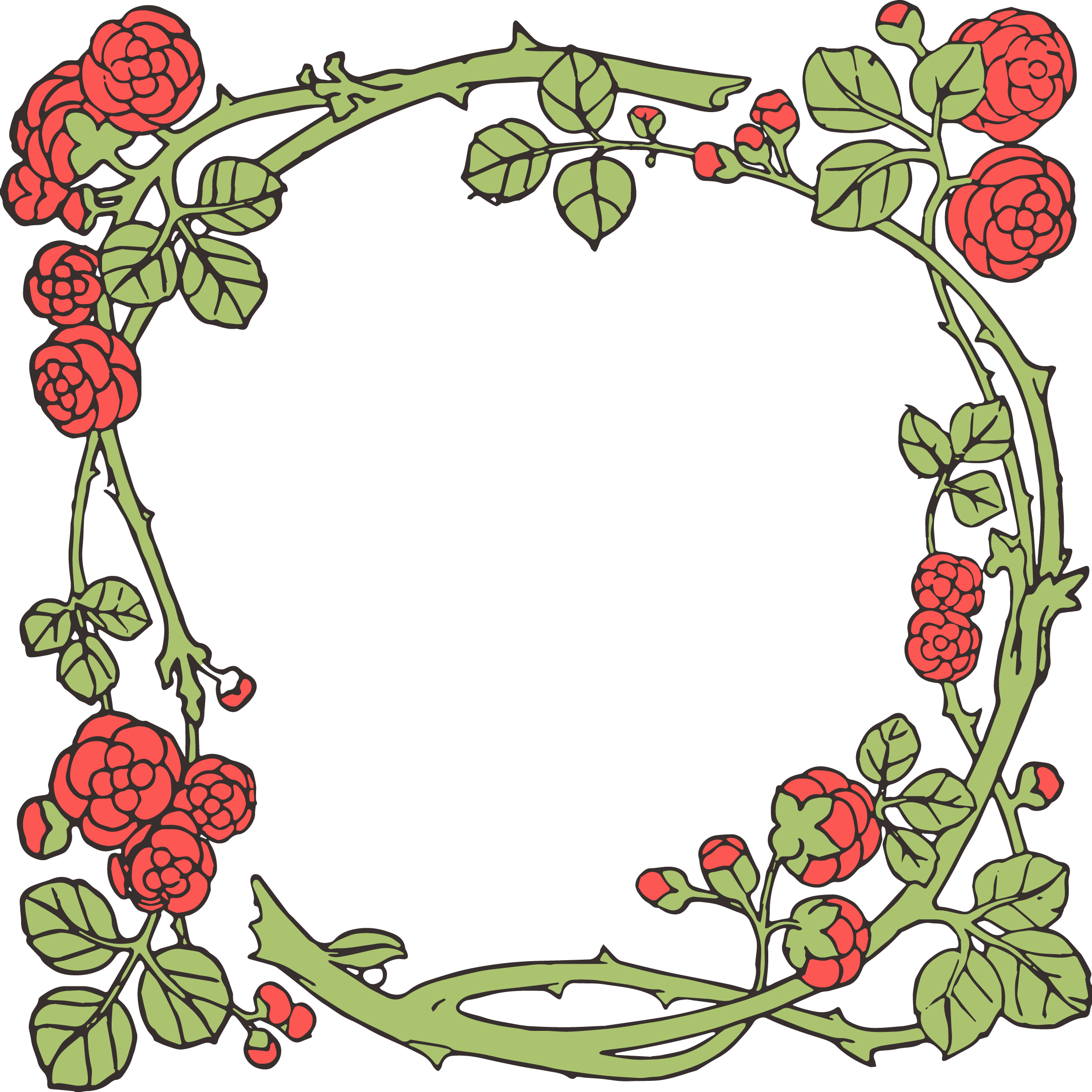 Vector pict floral. Free clipart at getdrawings