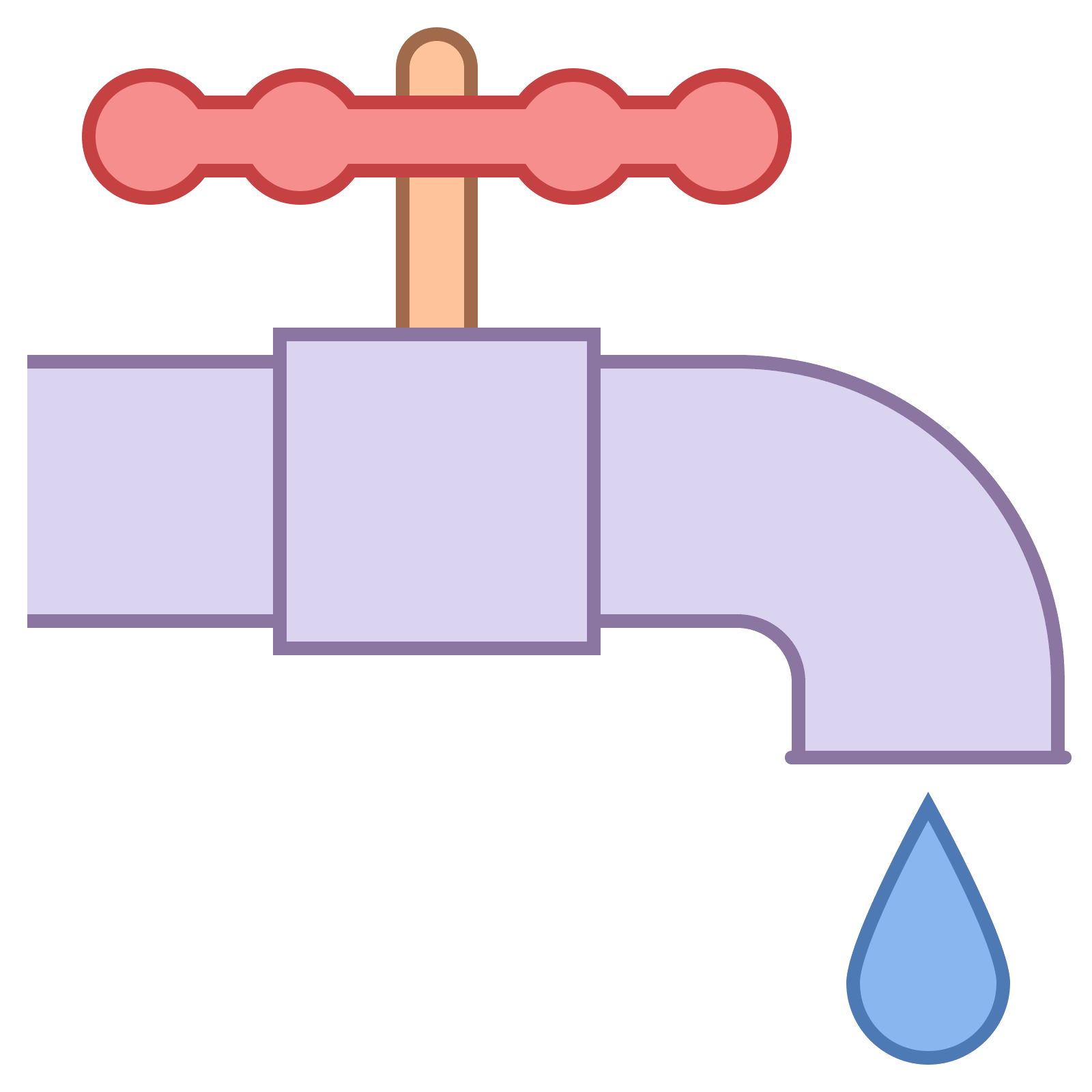 Vector pipes plumbing. Icon free download png