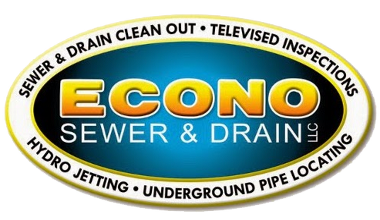 Vector pipes drain pipe. Econo sewer and cleaning