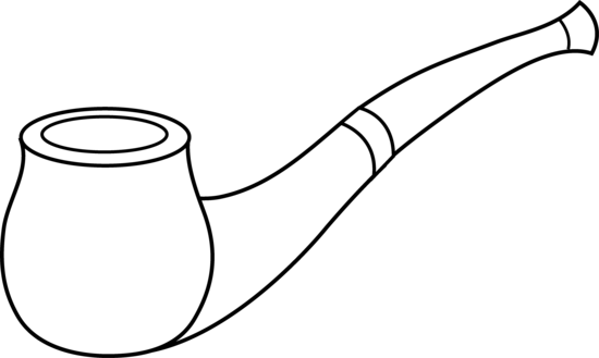 Vector pipe smoking. Free cliparts download clip