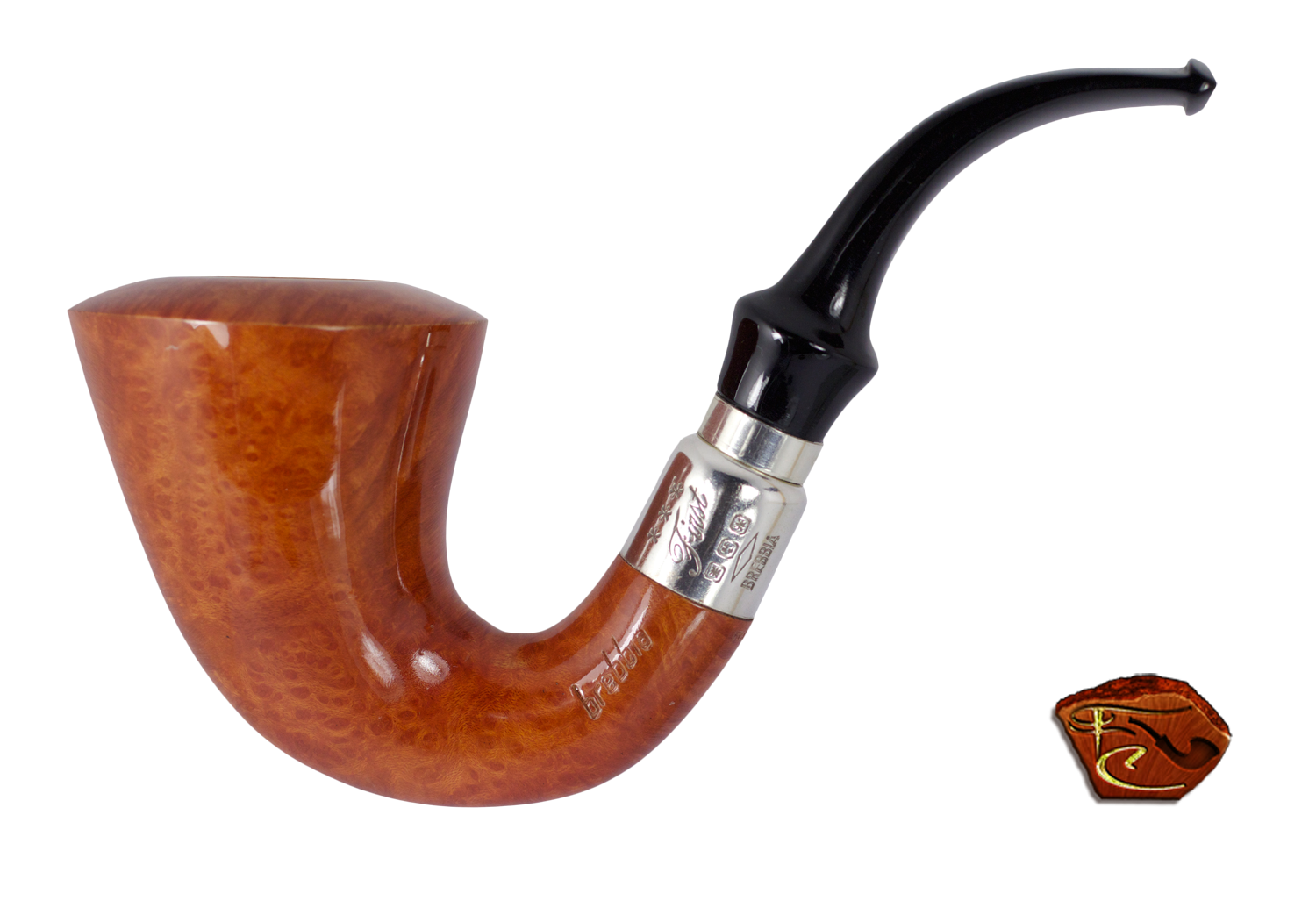 Vector pipes cigar pipe. Brebbia first calabash